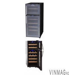 Racitor de vin 21 sticle, termoelectric, DOPIOVINO