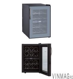 Racitor de vin 12 sticle, termoelectric, 2 zone, DUOVINO
