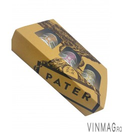 Set 3 Miniaturi PATER, Tuica, Struguri, Pere